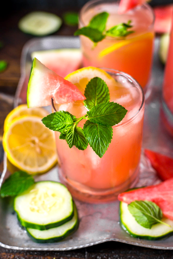 watermelon lemonade cocktail